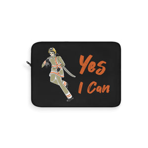 Laptop Sleeve - Yes I Can, Firefighter