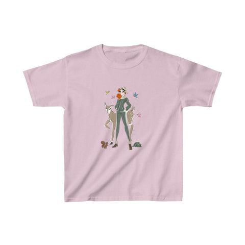 Kids Heavy Cotton™ Tee, Yes I Can, Ranger
