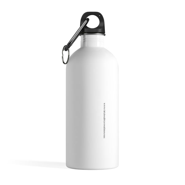 Stainless Steel Water Bottle - Yes I can, Iron Worker