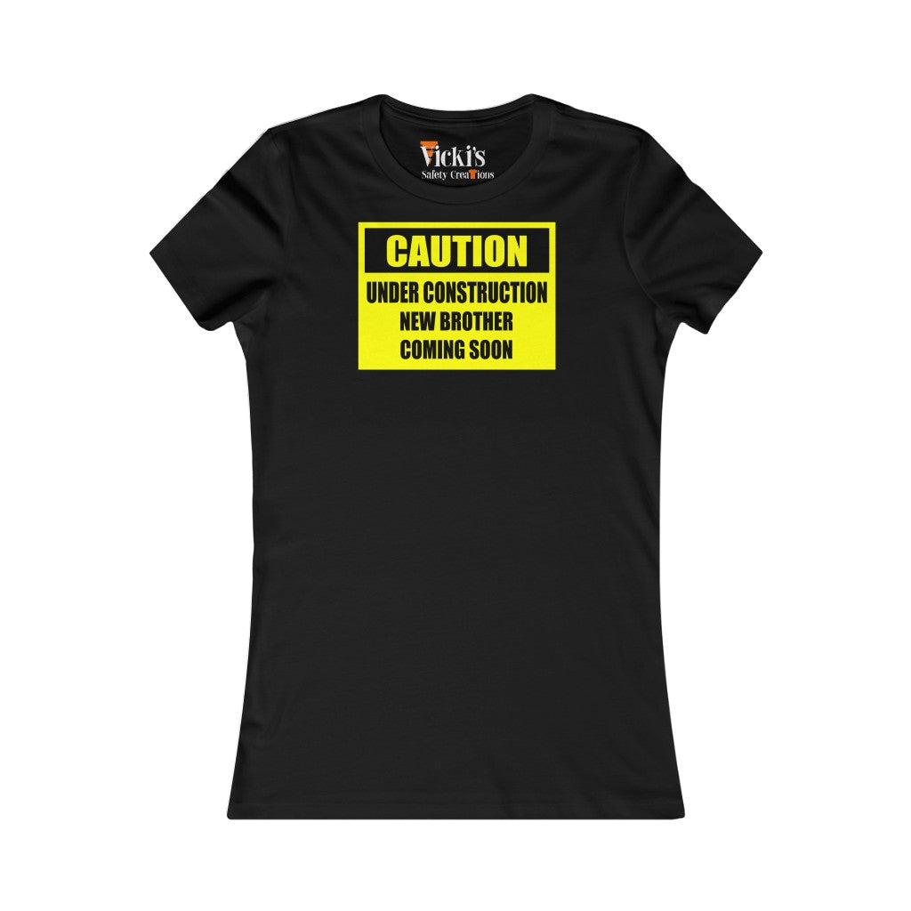 Slim Fit Tee - Caution, New Mommy