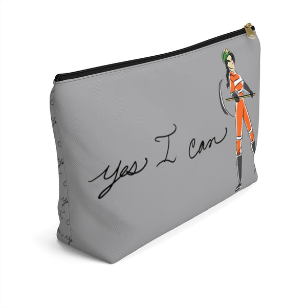 Accessory Pouch w T-bottom - Yes I Can, Miner