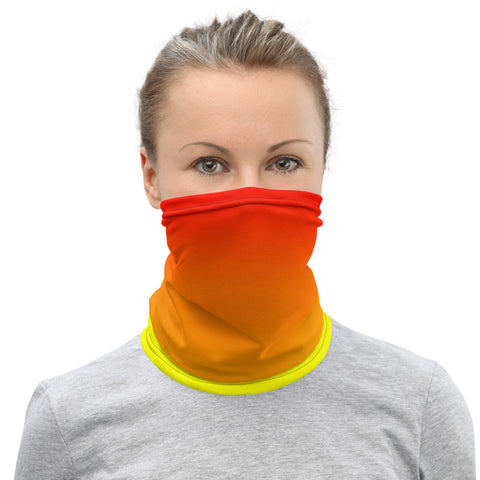 Neck Gaiter - Fire Ombre