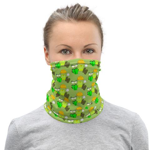 Neck Gaiter - Construction PPE, Green