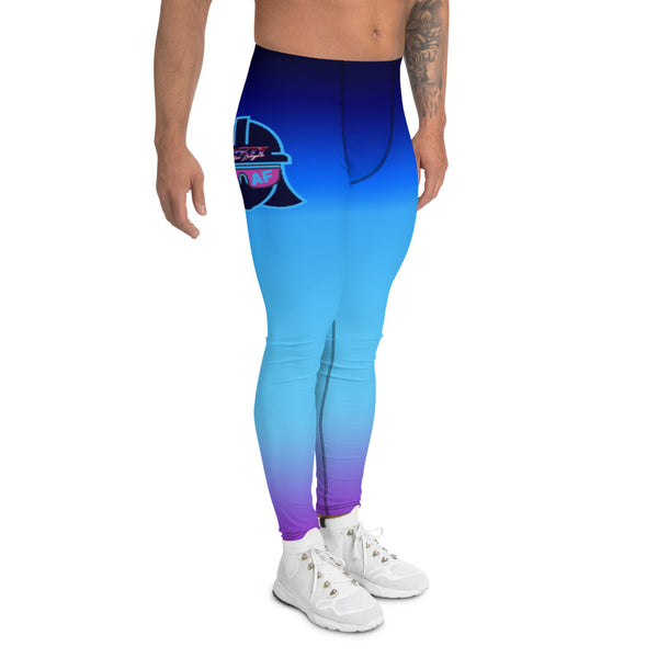 Men's Leggings - Safety Justice League, Safety Abby