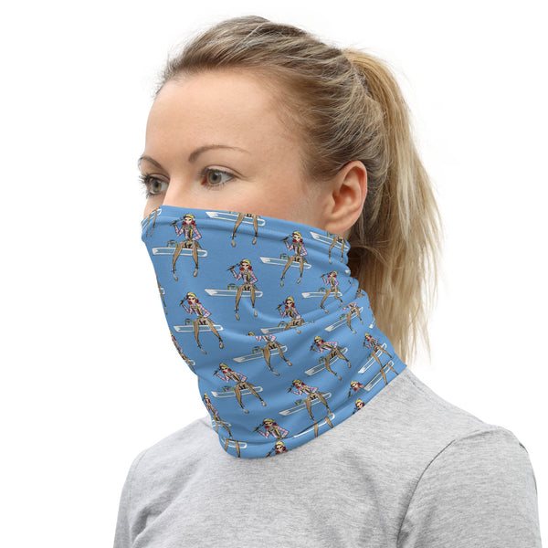 Neck Gaiter - Yes I Can, Ironworker