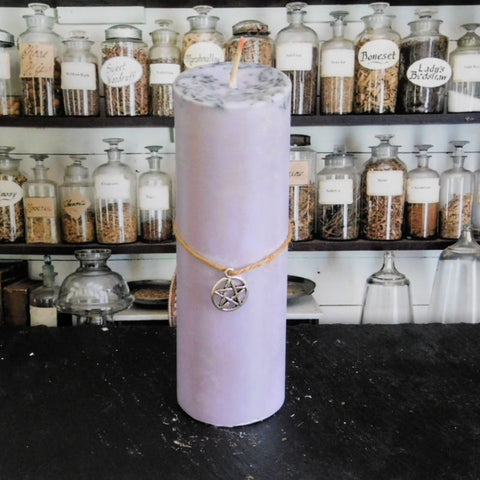 Divination Pillar Spell Candle