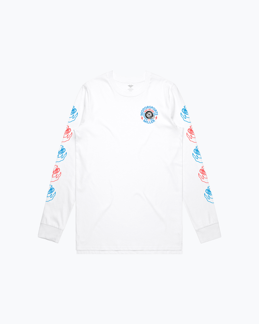 Burnout White Long Sleeve