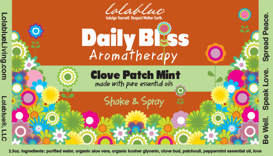 Daily Bliss Aromatherapy Spray: Clove Patch Mint
