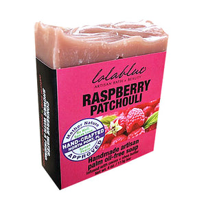 Raspberry Patchouli Soap