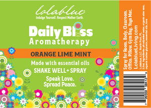 Daily Bliss Aromatherapy Spray: Orange Lime Mint