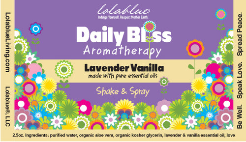 Daily Bliss Aromatherapy Spray: Lavender Vanilla