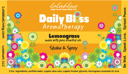 Daily Bliss Aromatherapy Spray: Lemongrass