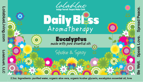 Daily Bliss Aromatherapy Spray: Eucalyptus