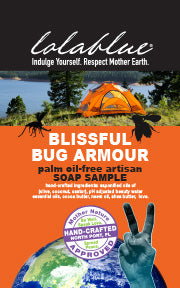 Blissful Bug Armour Travel/Try Me Size Soap