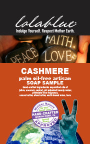 SPECIAL 50% OFF Cashmere Travel/Try Me Size Soap