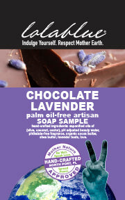 Chocolate Lavender Travel/Try Me Size Soap