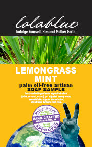 Lemongrass Mint Travel/Try Me Size Soap