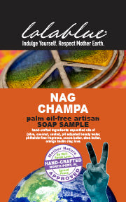 Nag Champa Travel/Try Me Size Soap
