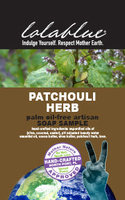 Patchouli Herb Travel/Try Me Size Soap