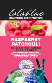 Raspberry Patchouli Travel/Try Me Size Soap