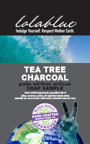 Tea Tree Charcoal Travel/Try Me Size Soap