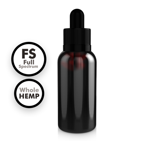 Full Spectrum Whole Hemp Extract Tinctures
