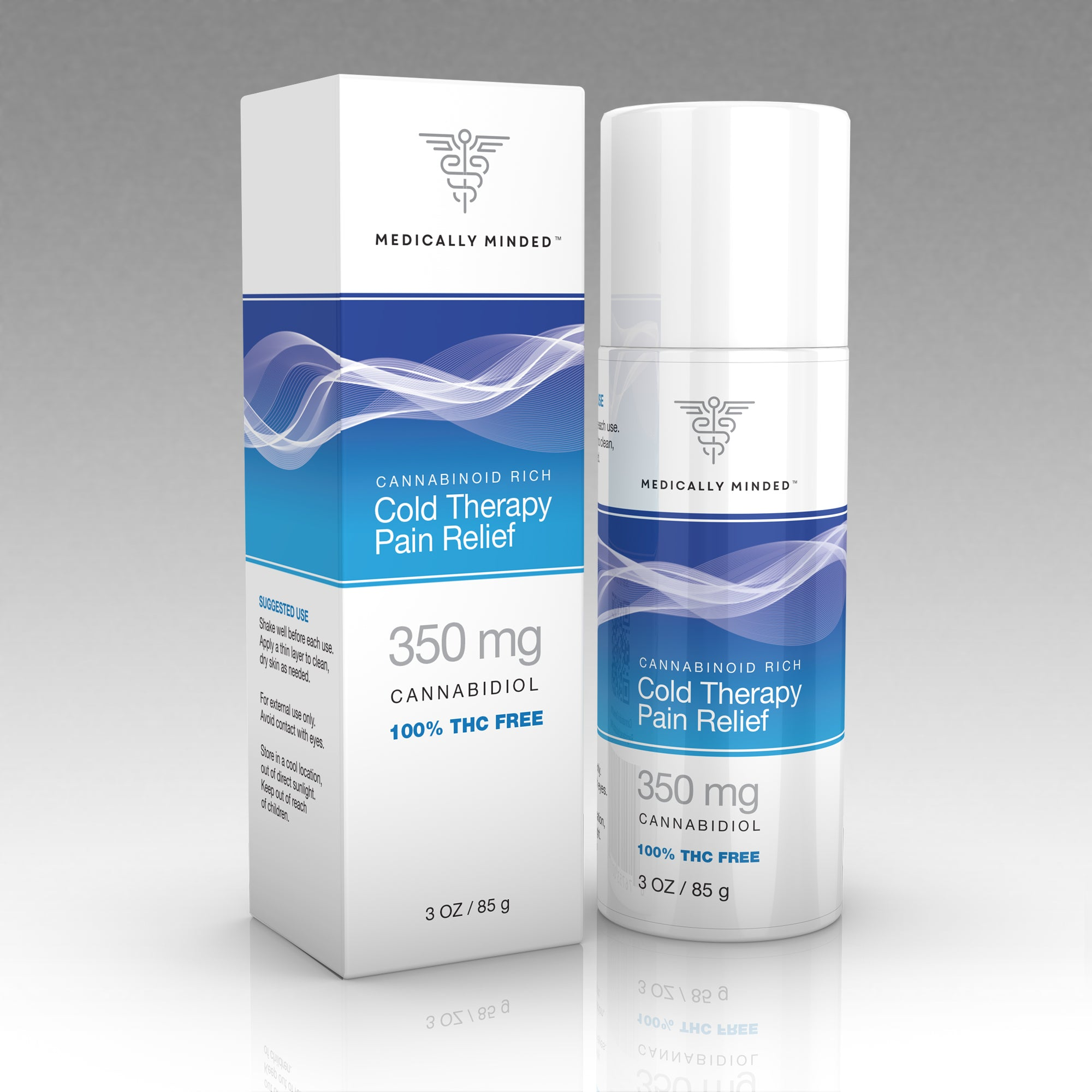 Medically Minded 350 mg Cold Therapy Pain Relief Gel (Sample)