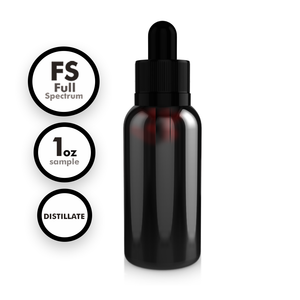 Full Spectrum Distillate Tincture (1 oz Sample)