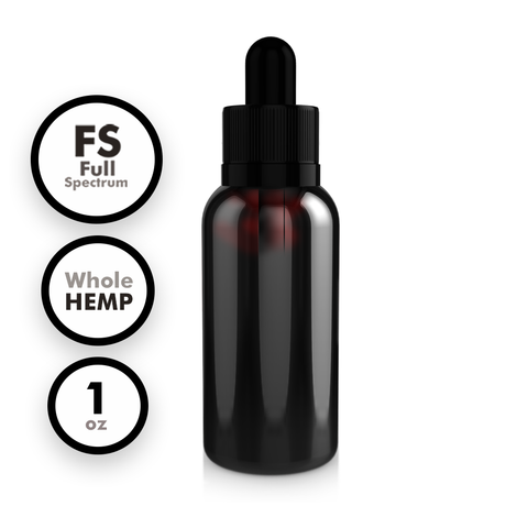 Full Spectrum Whole Hemp Extract Tincture