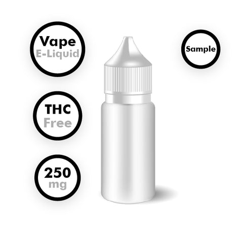 THC-Free CBD Vape E-Liquid (Sample)