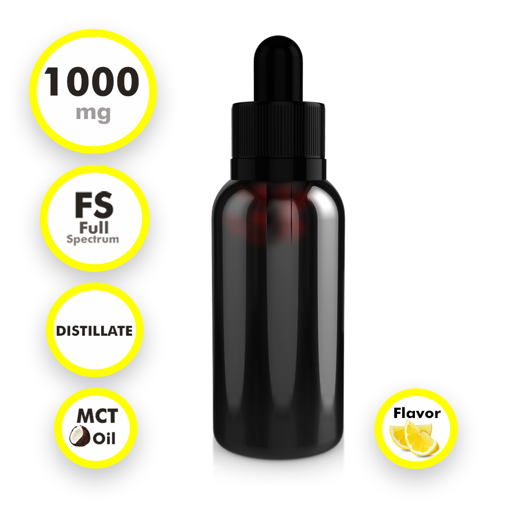 Full Spectrum Distillate Tincture (1 oz)