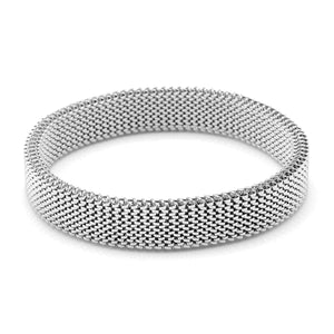 Fashion Stretch Stainless Steel Couple Bracelet - Ouraniastore