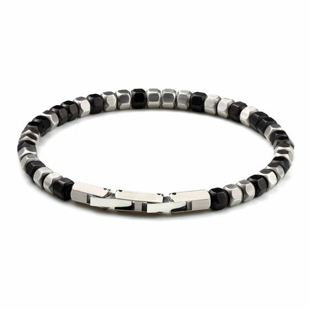 Stainless Steel Hexagon Beads Mixed Bracelet - Ouraniastore