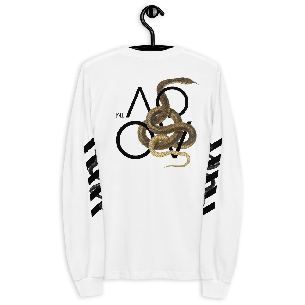 Series 1 - Snake Long Sleeve (White) - IntrovertedExtrovert™