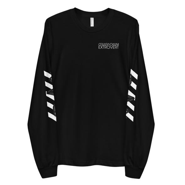Series 1 - Snake Long Sleeve (Black) - IntrovertedExtrovert™