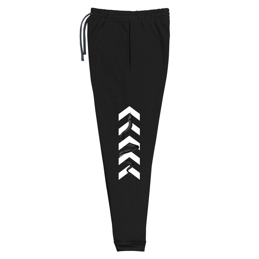 Series 1 - Snake Joggers (Black) - IntrovertedExtrovert™
