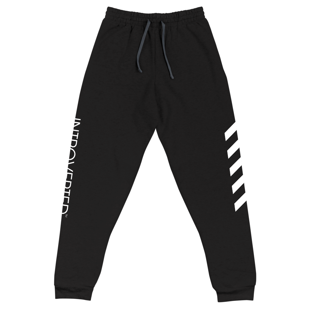 Series 1 - Classic Joggers (Black) - IntrovertedExtrovert™