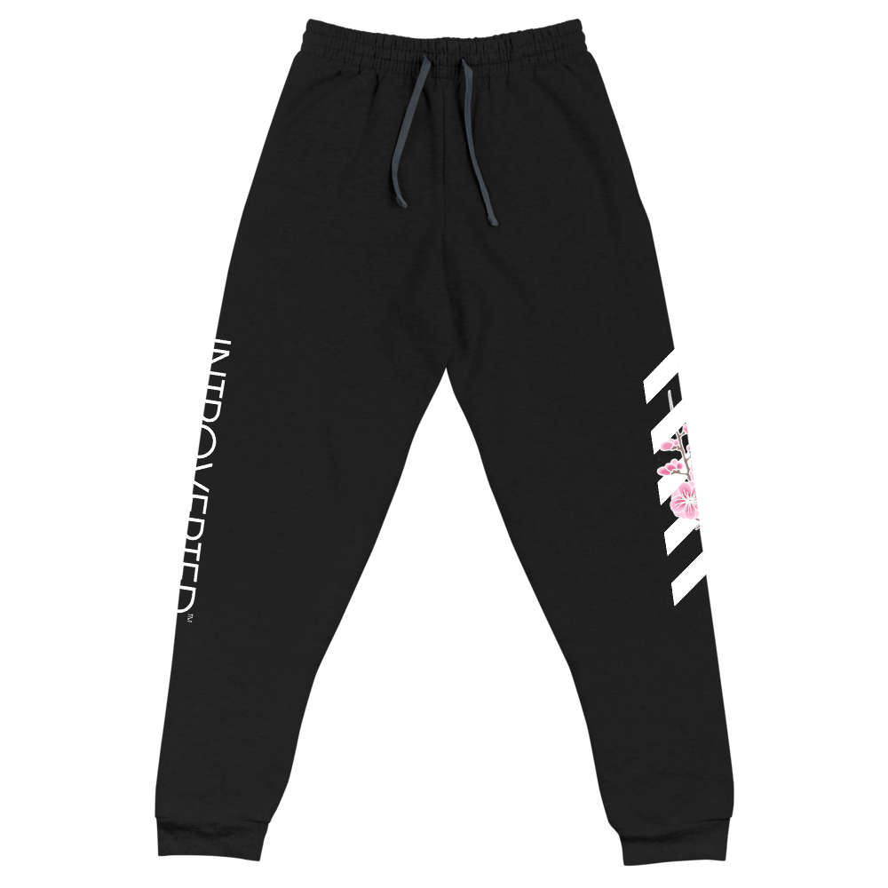Series 1 - Blossom Joggers (Black) - IntrovertedExtrovert™