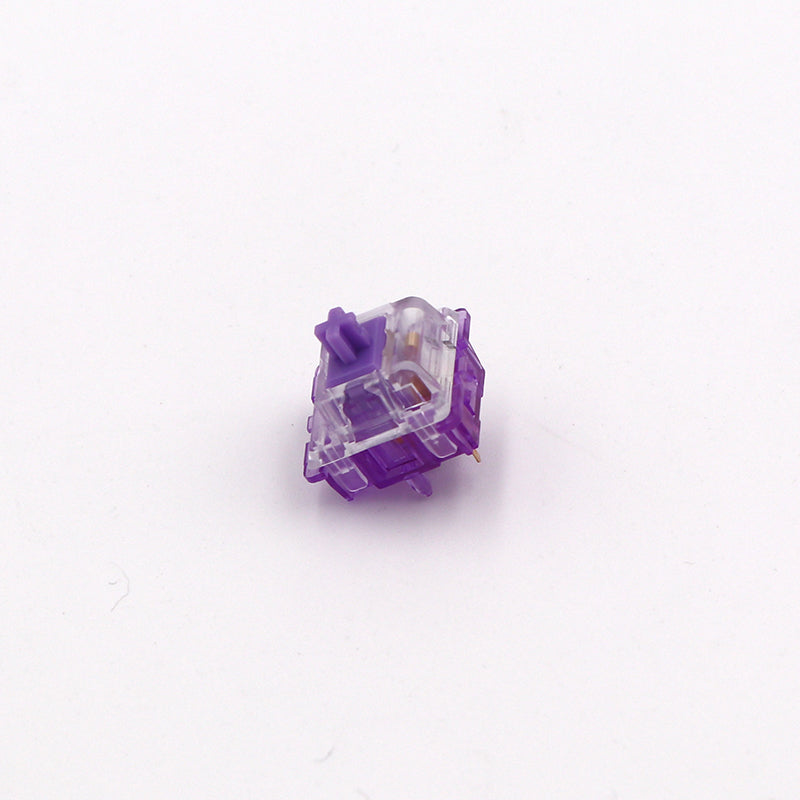 Everglide Crystal Purple Switches
