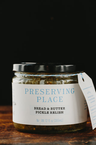 Bread & Butter Pickle Relish