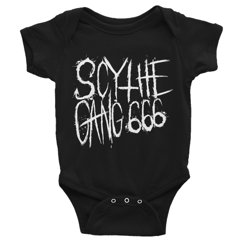 scythe gang 666 infant bodysuit