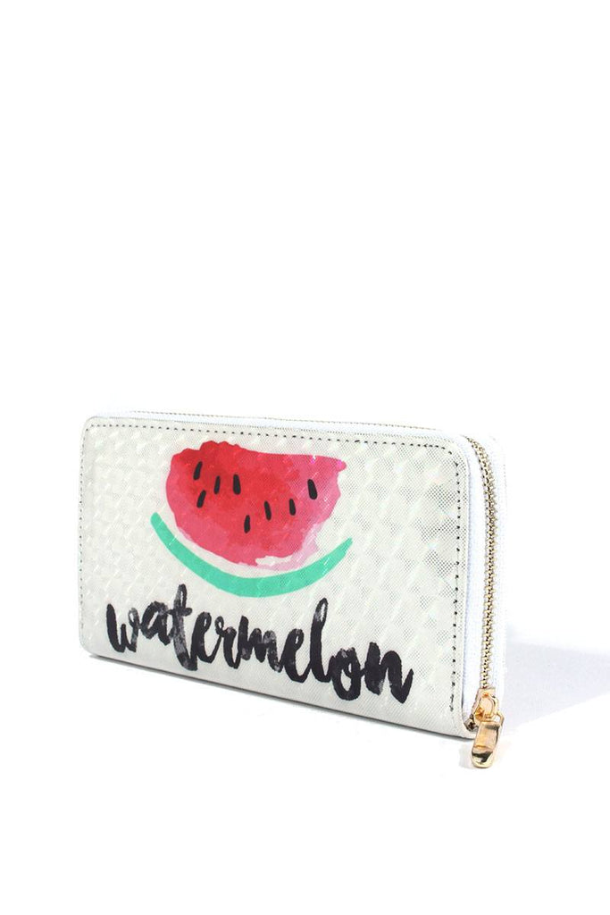 Watermelon Print Wallet