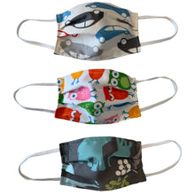 Load image into Gallery viewer, ****KIDS 3 Pack****  Face Masks Are Adjustable, Breathable, Reusable, Washable, And Lightweight