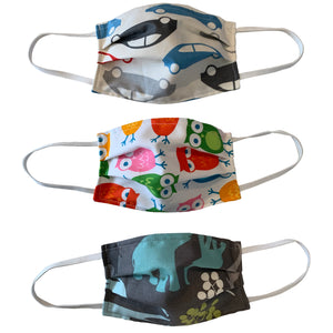****KIDS 3 Pack****  Face Masks Are Adjustable, Breathable, Reusable, Washable, And Lightweight