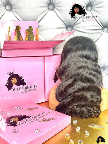 Queen Body Wave HD Lace Frontal Wig