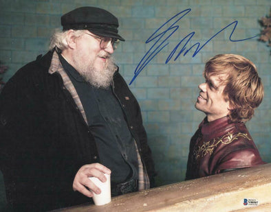 George RR Martin Authentic Autographed 11x14 Photo