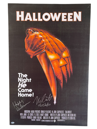 Nick Castle Authentic Autographed Halloween Full Size Poster