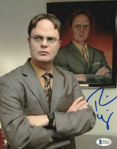 Rainn Wilson Authentic Autographed 8x10 Photo