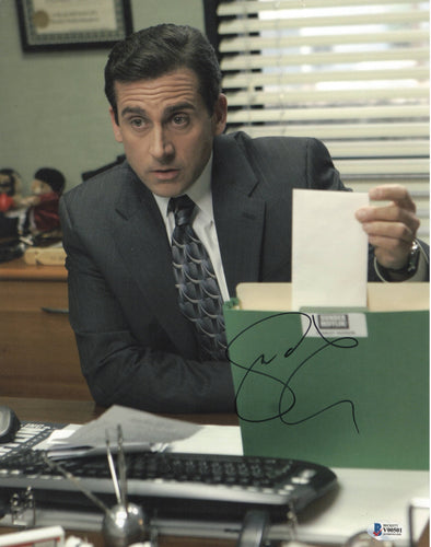 Steve Carell Authentic Autographed 11x14 Photo