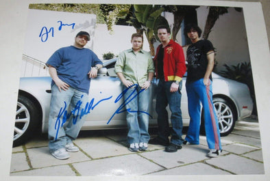 Adrian Grenier, Jeremy Piven, Jerry Ferrara, Kevin Connolly, Kevin Dillon Authentic Autographed 11x14 Photo - Prime Time Signatures - TV & Film